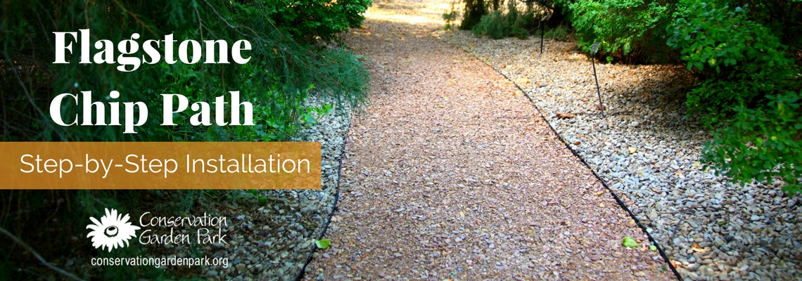 Flagstone Chip Path Step By Step Installation